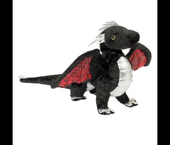 Douglas Cuddle Toy Plush Vincent Black Dragon
