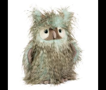 Douglas Cuddle Toy Plush Delphia Owl Fur Fuzzle