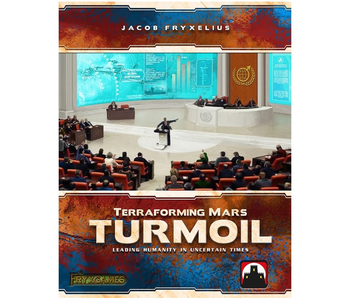 TERRAFORMING MARS: TURMOIL - LEADING HUMANITY IN UNCERTAIN TIMES EXPANSION