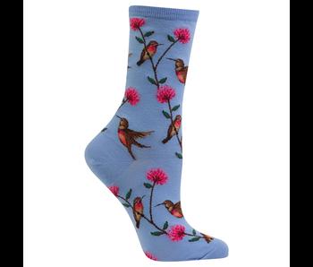 Hotsox Originals  PAIR MINI HUMMINGBIRDS BLUE