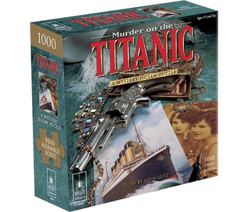 PUZZLE - MYSTERY - MURDER ON THE TITANIC 1000 PC