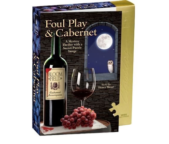 PUZZLE - MYSTERY - FOUL PLAY & CABERNET 1000 PC
