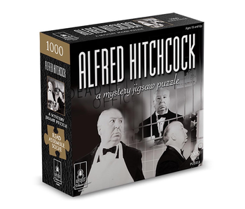PUZZLE - MYSTERY - ALFRED HITCHCOCK 1000 PC