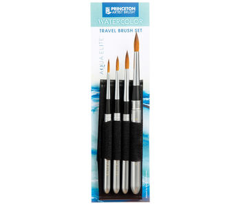 Princeton Watercolour Travel Brush Set Aqua Elite