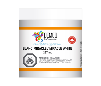 DEMCO 8OZ MIRACLE WHITE