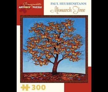 POMEGRANATE ARTPIECE PUZZLE 300 PIECE: PAUL HEUSSENSTAMM MONARCH TREE