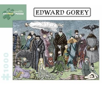 POMEGRANATE ARTPIECE PUZZLE 1000 PIECE: EDWARD GOREY