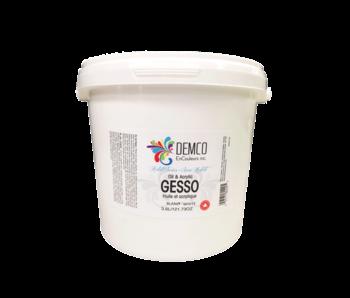 Demco Gesso Artist Series white Gallon