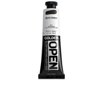 Golden Open Burnt Umber 2Oz Acrylic