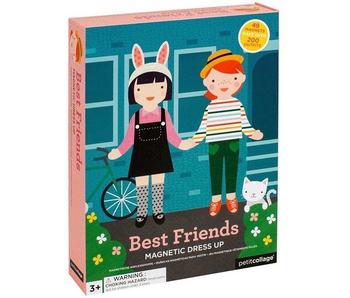 PETITCOLLAGE - BEST FRIENDS MAGNETIC DRESS UP