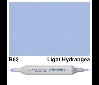 COPIC SKETCH B63 LIGHT HYDRANGEA