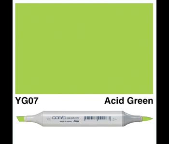 COPIC SKETCH YG07 ACID GREEN