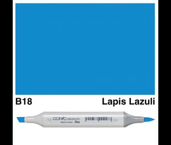 COPIC SKETCH B18 LAPIS LAZULI