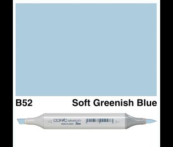 COPIC SKETCH B52 SOFT GREENISH BLUE