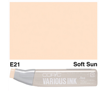 COPIC VARIOUS INK REFILL SOFT SUN E21