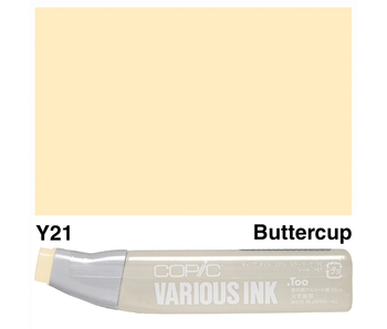 COPIC VARIOUS INK REFILL BUTTERCUP YELLOW Y21