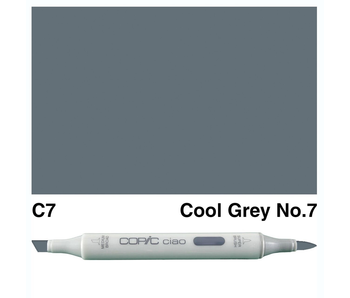 COPIC CIAO C7 COOL GREY 7