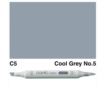 COPIC CIAO C5 COOL GREY 5