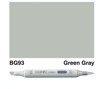 COPIC CIAO BG93 GREEN GRAY