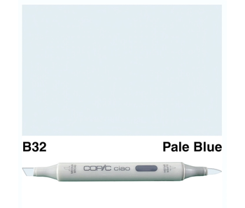 COPIC CIAO B32 PALE BLUE