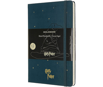 "Moleskine Hardcover Ruled 5 x 8.25"" 13x21 cm Harry Potter Teal Limited"