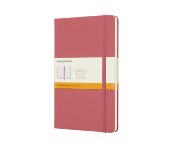 MOLESKINE CLASSIC COLLECTION HARD COVER RULED NOTEBOOK PINK