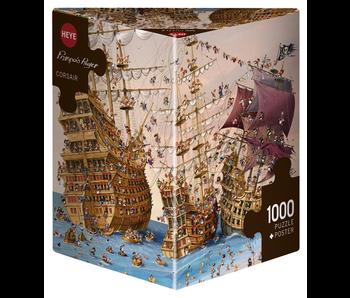 Heye 1000 Piece Corsair Puzzle