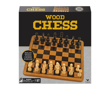 Cardinal Wood Chess