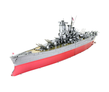 Metal Earth 3D Model : Iconx Battleship 3 sheets