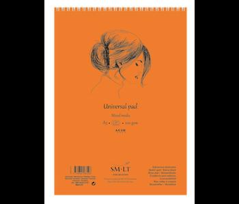 SMLT ART Universal Mixed Media Pad A3 Spiral Bound