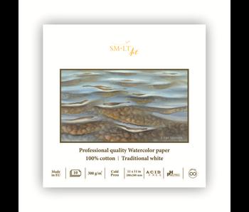 """SMLT ART 100% cotton Cold Press Watercolour Paper 11x11"""""""