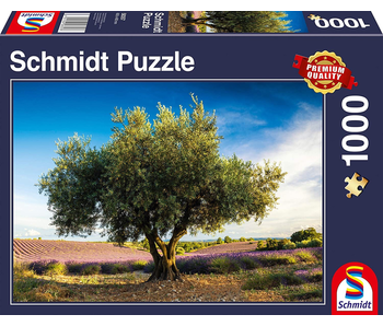 SCHMIDT PUZZLE 1000: OLIVE TREE IN PROVENCE