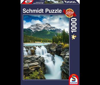 SCHMIDT PUZZLE 1000: ATHABASCA FALLS, CANADA