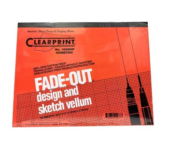 CLEARPRINT FADE-OUT DESIGN AND SKETCH VELLUM