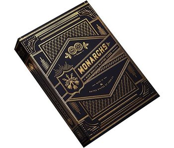 BICYCLE PLAYING CARDS: THEORY II NAVY MONARCHS PREMIUM