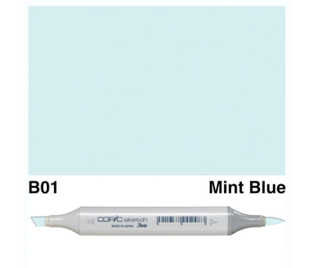 COPIC SKETCH B01 MINT BLUE