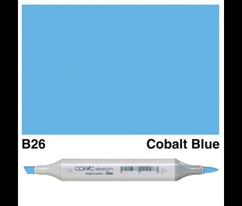 COPIC SKETCH B26 COBALT BLUE
