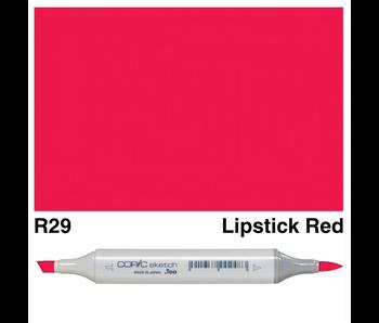 COPIC SKETCH R29 LIPSTICK RED