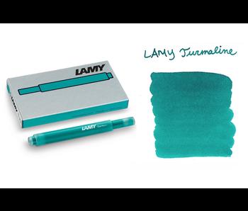 Lamy Ink Cartridge T10 5 per pack Turmaline