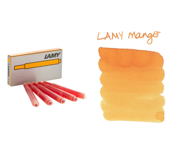 LAMY CALLIGRAPHY INK CARTRIDGE 5PK Mango