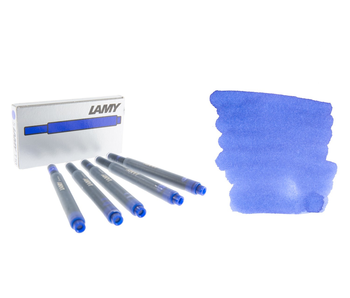 LAMY CALLIGRAPHY INK CARTRIDGE 5PK BLUE