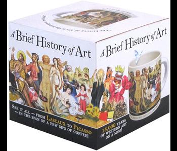 A BRIEF HISTORY OF ART MUG