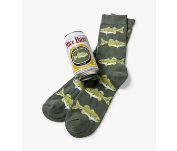 LBH Nice Bass Men's Beer Can Socks