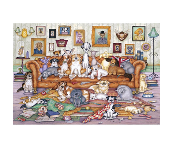 Gibsons Puzzle 500 Piece The Barker Scratchits