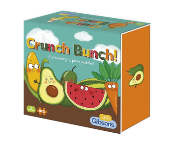 Little Gibsons Puzzle: Crunch Bunch! 8 puzzles in one box!