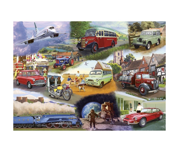 Gibsons Puzzle 24 XL Piece Transport