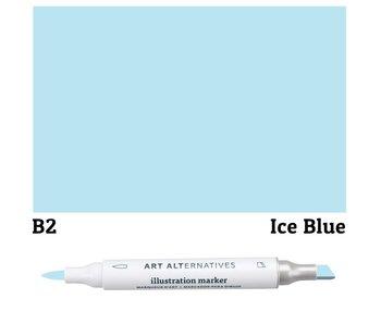 AA ILLUSTRATION MARKER ICE BLUE