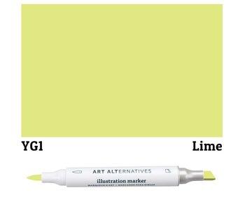 Art Alternatives ILLUSTRATION MARKER LIME