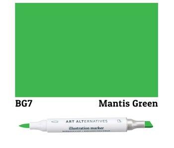 AA ILLUSTRATION MARKER MANTIS GREEN