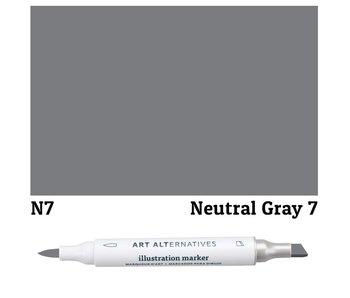 Art Alternatives ILLUSTRATION MARKER NEUTRAL GRAY 7